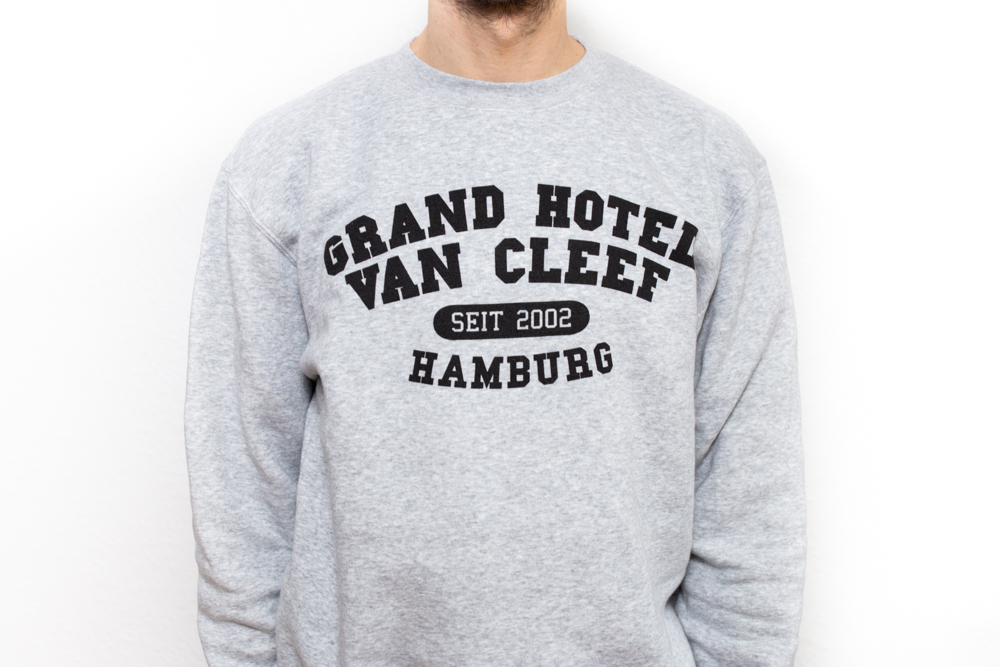 GHvC College Sweater - grau
