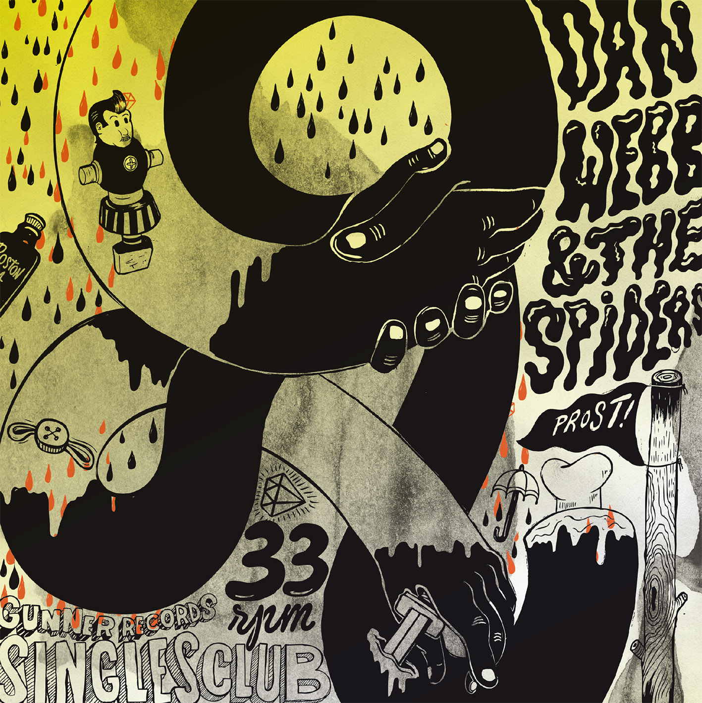 Dan Webb and The Spiders - Epic Fail 7''