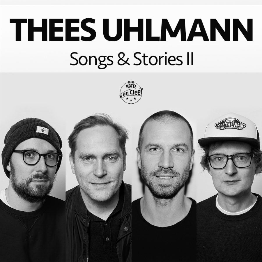 Thees Uhlmann - Songs & Stories II - Tickets 2021
