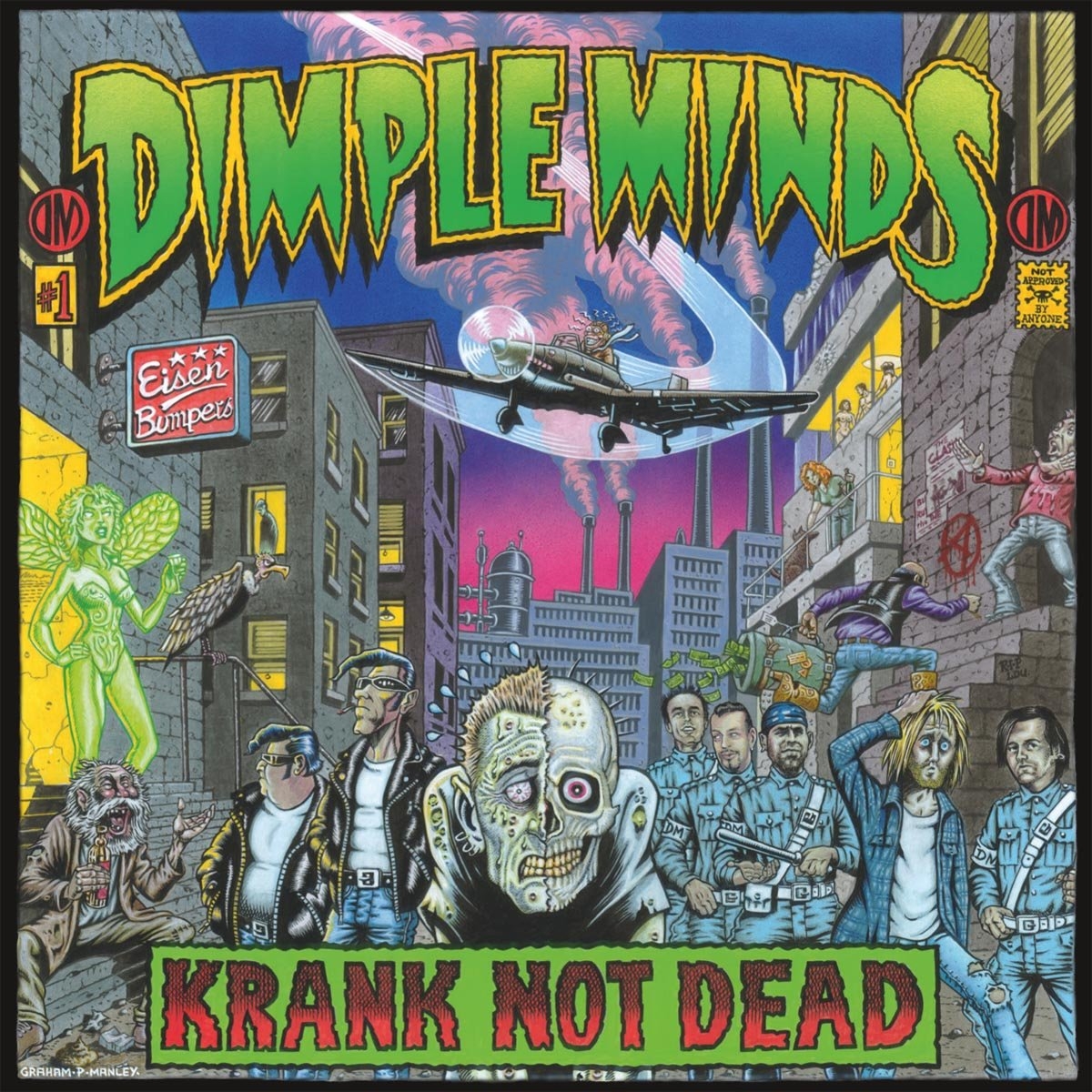 Dimple Minds - Krank not dead