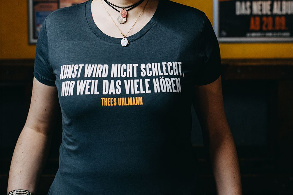 Thees Uhlmann - Kunst - Shirt
